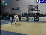 Judo 2011 EC Istanbul: Anton Martsulevich BLR - Leonidas Iliadis GRE -100kg