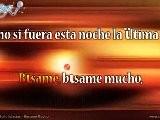 Julio Iglesias - Besame Mucho Karaoke Version