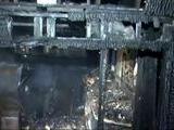 Jack Nicholson&#039 S LA Home Burns