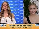 Jennifer Lawrence Lands Katniss Role In ' The Hunger Games'