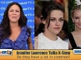 Jennifer Lawrence Talks Kristen Stewart Comparisons