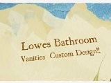 Lowes Bathroom Vanities BEAUTIFUL!! CUSTOM STYLES