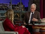Kaley Cuoco - Late Show With David Letterman