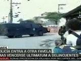 La Policia Tom&oacute Las Favelas Del Complexo Do Alemao