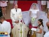 Le Prince Albert Et Charlene, Mari Et Femme
