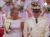 Le Prince Albert II De Monaco Et La Princesse Charl&egrave Ne