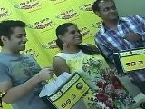 Love U Mr Kalakaar Director S.Manasvi & Tusshar Kapoor Getting Radio Mirchi Goodies At An Event