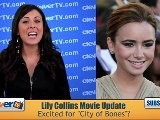 Lily Collins Lands City Of Bones Movie Role