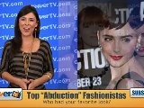 Lily Collins & Bella Thorne -- ' Abduction' Fashionistas