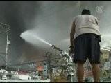 Manille Ravag&eacute E Par Les Flammes