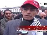 Manifestation Du 20 F&eacute Vrier &agrave Casablanca, JT 2M