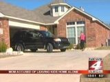Mom Accused Of Leaving Kids Home Alone