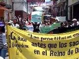 Marcha De Las Putas En Nicaragua Contra Violencia A Mujeres
