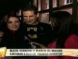 Maite Perroni En Ensayos PJ2011 ETV