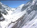Malani From Ahigh: Aerial View Of Snowy Mountains Of Himachal Pradesh