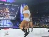 Melina Vs Michelle McCool Smackdown 6.30.2005