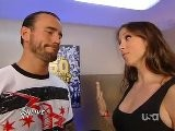 CM Punk And Stephanie McMahon Backstage HD Raw 08.15.2011