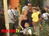 Melissa Joan Hart And Family At The Lion King 3D Premiere