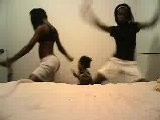 Moe Tee An Khamani Rippin To Wop! LMAO Jus Messin Roundd