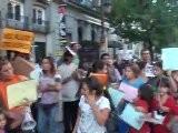 Manifestaci&oacute N En Defensa Del Poblado Gitano De Puerta De Hierro