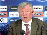 Man United V Shalke: Sir Alex Ferguson