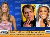 Miss USA 2009 And Perez Hilton Feud - Gossip