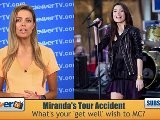 Miranda Cosgrove&#039 S Tour Bus Accident