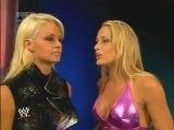 Michelle McCool And Maryse Segment Smackdown 8.29.2008