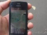 Nokia C5-03 - Demo Funzionamento GPS