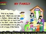 Nursery Rhymes My Family Songs With Lyrics