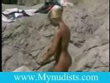 Nudist Enjoy The Sunshine
