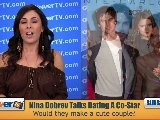 Nina Dobrev Addresses Rumors She&#039 S Dating Co-Star Ian Somerhalder