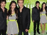 Nina Dobrev, Ian Somerhalder & Paul Wesley At The CW Upfronts