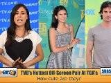 Nina Dobrev & Ian Somerhalder - 2011 Teen Choice Awards Style Stars