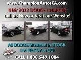 New DODGE CHARGER Anaheim, Orange County, Norwalk, Downey - 2012 - Call 1.800.549.1084