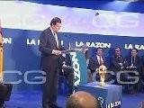 Vicente Del Bosque Recibe El Premio La Raz&oacute N