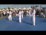 Pokaz Taekwon-do ITF LKS Lotos