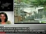 Prosigue Operativo Militar En Favela Complexo Do Alemao