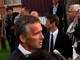 Prime Minister Jens Stoltenberg Meets With Victims Familes