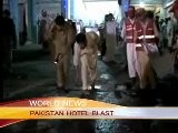 PAKISTAN HOTEL BLAST