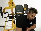 Powertec LeverGym Quads And Calves Workout With Rob Riches
