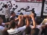 Protesters Attempt To Demolish A Wall And Break Into The Israeli Embassy In Cairo