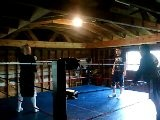 Pro Wrestling Training At Buddy Waynes Sept 15 2011