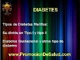DIABETES MELLITUS TIPO I Y TIPO II NUTRICION Y SALUD