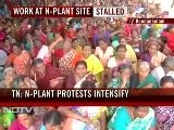 Protests Intensify At Kudankulam N-plant In Tamil Nadu