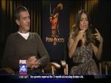 Puss In Boots: Antonio Banderas And Salma Hayek