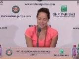 Roland Garros - Ivanovic, Triste Por Su Derrota