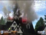 RAW Video: Twilight Hotel Burns 7-11-11