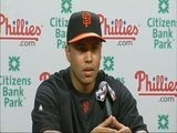 Raw Video: Carlos Beltran Introduced As SF Giant