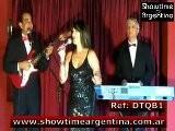 REF: DTQB1 JAZZ POP SOUL DISCO LATIN LOUNGE WORLD TRIO Www.showtimeargentina.com.ar